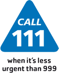 Click to view NHS 111 service information
